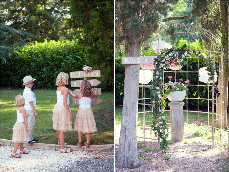 Elena Tihonovs, les enfants d'honneurs en couleurs pastels, les acessoires pour photobooth
