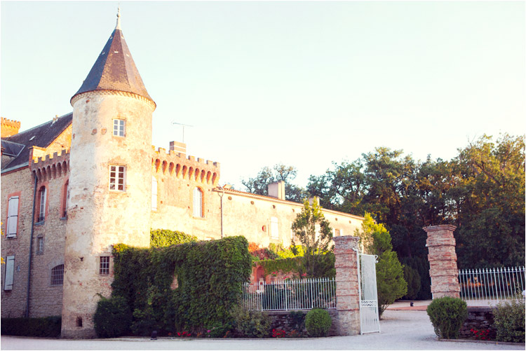 Elena Tihonovs, mariage bohème au Château de Croisillatà Toulouse