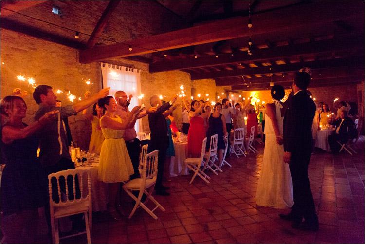 mariage au château du croisillat