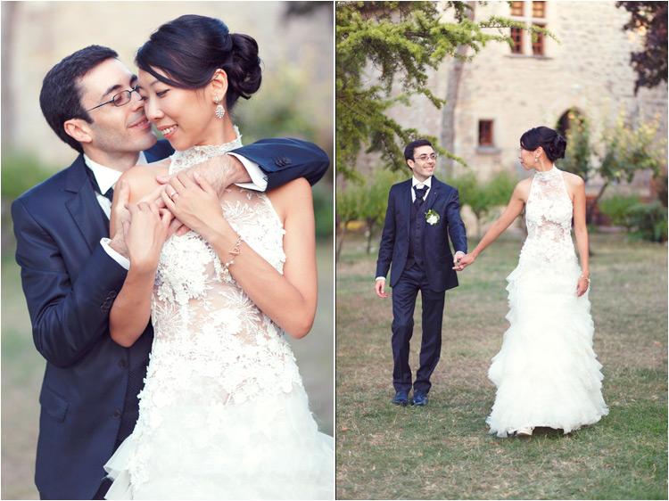 photographe mariage au chateau de Mauriac à Senouillac