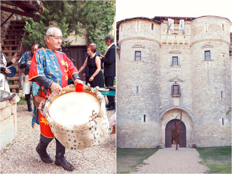 mariage élégant à château du mauriac à senouillac 81, l'animation medievale