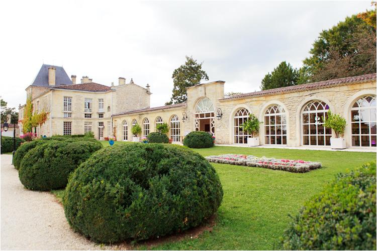 orangerie du château de la Ligne