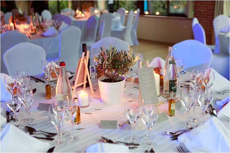 decoration mariage aux touches italiennes