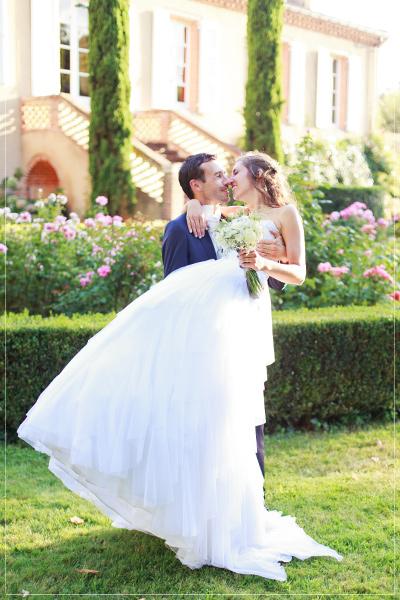 mariage au Château Touny les Roses à Lagrave