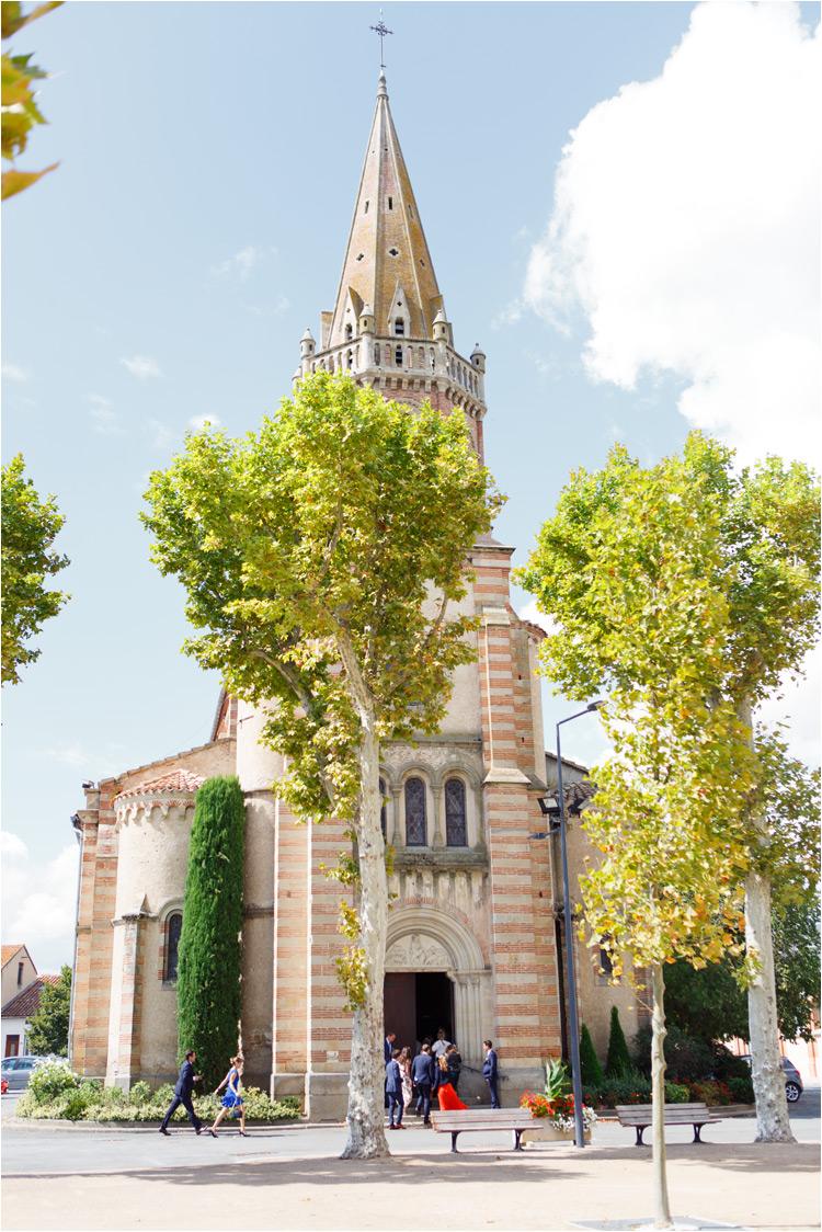 L'église à St Paul Cap de Joux