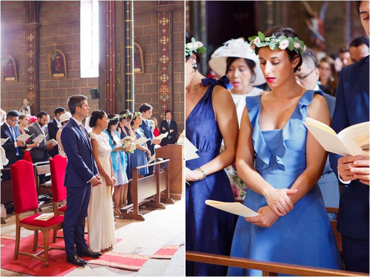 Le mariage à l'église de St Paul Cap de Joux dans le Tarn