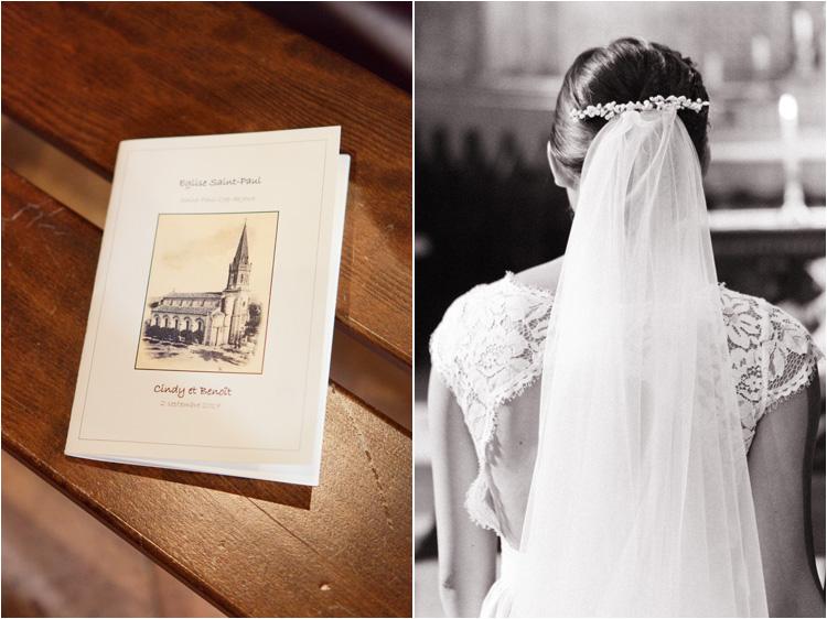 Cérémonie de mariage à l'église dans le Tarn, les détails
