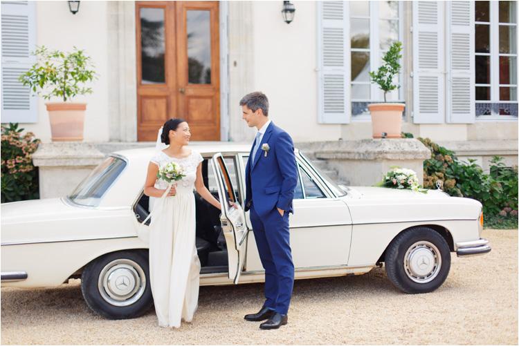 Photo de couple au mariage dans le Tarn