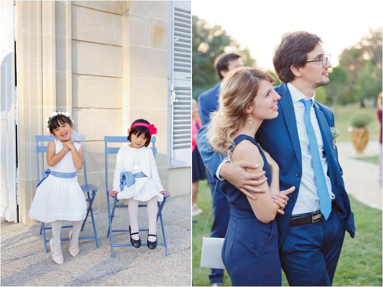 Les enfants au mariage