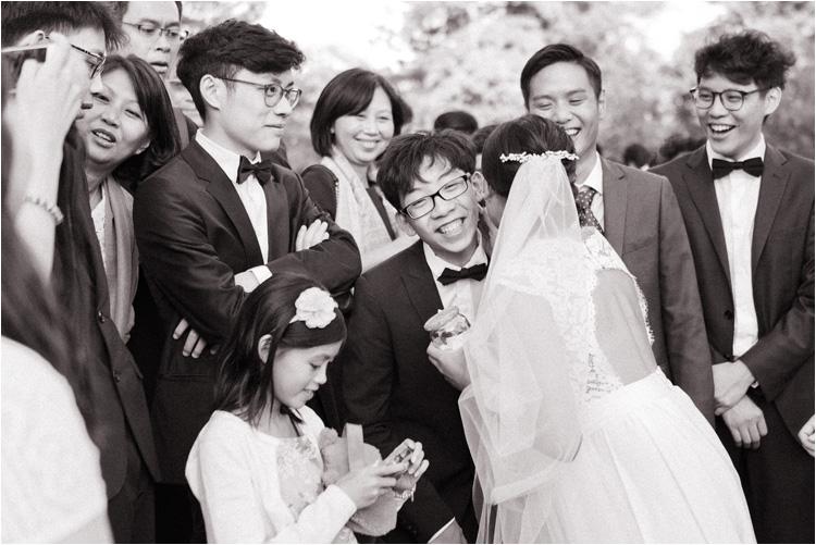 La mariée et sa famille