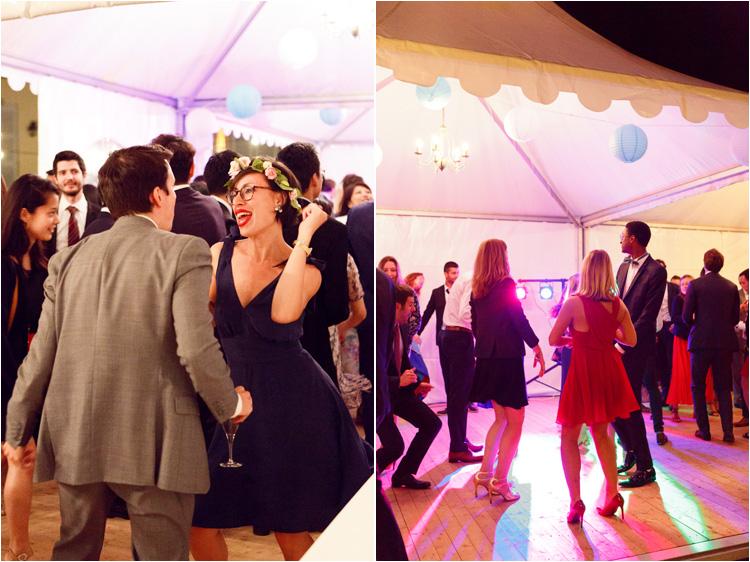 Soirée dansante au mariage dans le Tarn