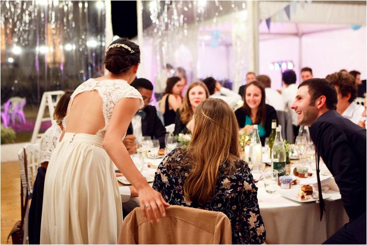 Reportage soirée mariage