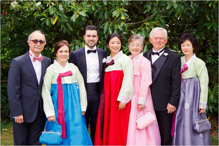Photo de famille mariage Toulouse