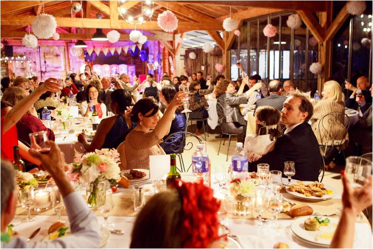 La réception mariage au moulin de Nartaud